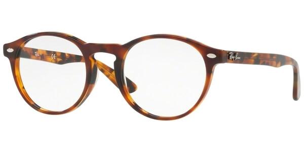 Dioptrické brýle Ray-Ban® model 5283, barva obruby hnědá lesk, stranice hnědá lesk, kód barevné varianty 5675.