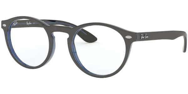 Dioptrické brýle Ray-Ban® model 5283, barva obruby šedá modrá lesk, stranice šedá modrá lesk, kód barevné varianty 5988.