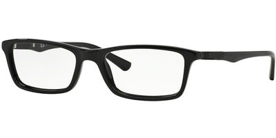 Dioptrické brýle Ray-Ban® model 5284, barva obruby černá lesk, stranice černá lesk, kód barevné varianty 2000.