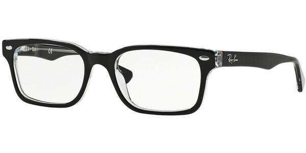 Dioptrické brýle Ray-Ban® model 5286, barva obruby černá lesk, stranice černá lesk, kód barevné varianty 2034.