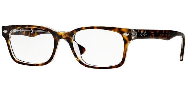Dioptrické brýle Ray-Ban® model 5286, barva obruby hnědá lesk, stranice hnědá lesk, kód barevné varianty 5082.