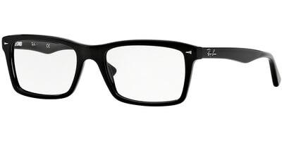 Dioptrické brýle Ray-Ban® model 5287, barva obruby černá lesk, stranice černá lesk, kód barevné varianty 2000.