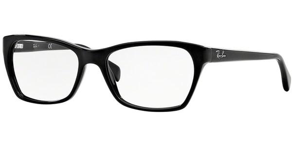 Dioptrické brýle Ray-Ban® model 5298, barva obruby černá lesk, stranice černá lesk, kód barevné varianty 2000.