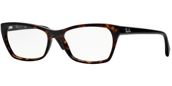 Dioptrické brýle Ray-Ban® model 5298, barva obruby hnědá lesk, stranice hnědá lesk, kód barevné varianty 2012.