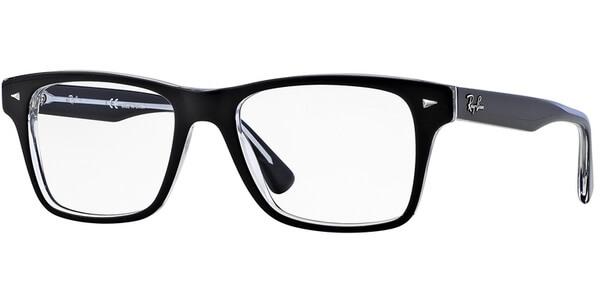 Dioptrické brýle Ray-Ban® model 5308, barva obruby černá čirá lesk, stranice černá čirá lesk, kód barevné varianty 2034.