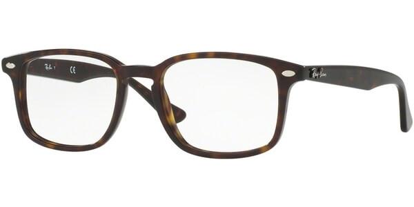 Dioptrické brýle Ray-Ban® model 5353, barva obruby hnědá lesk, stranice hnědá lesk, kód barevné varianty 2012.
