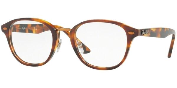 Dioptrické brýle Ray-Ban® model 5355, barva obruby hnědá bronzová lesk, stranice hnědá lesk, kód barevné varianty 5675.