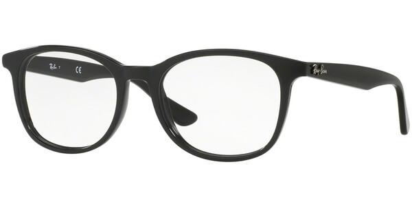 Dioptrické brýle Ray-Ban® model 5356, barva obruby černá lesk, stranice černá lesk, kód barevné varianty 2000.