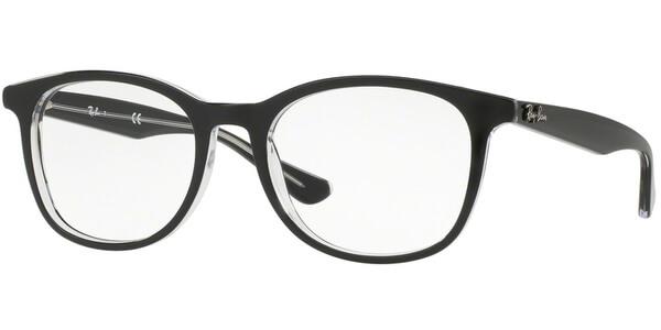 Dioptrické brýle Ray-Ban® model 5356, barva obruby černá čirá lesk, stranice černá čirá lesk, kód barevné varianty 2034.