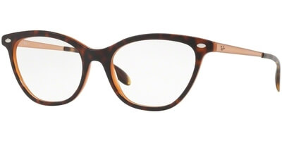 Dioptrické brýle Ray-Ban® model 5360, barva obruby hnědá lesk, stranice hnědá lesk, kód barevné varianty 5713.
