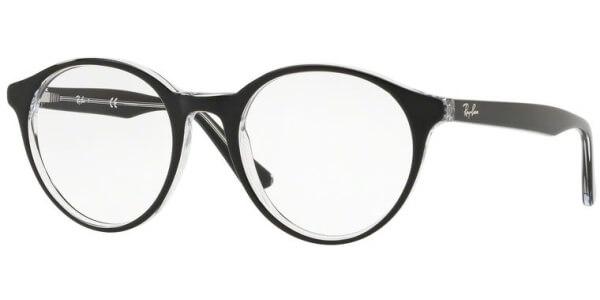 Dioptrické brýle Ray-Ban® model 5361, barva obruby černá čirá lesk, stranice černá čirá lesk, kód barevné varianty 2034.