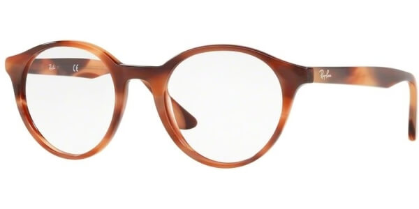 Dioptrické brýle Ray-Ban® model 5361, barva obruby hnědá lesk, stranice hnědá lesk, kód barevné varianty 5774.