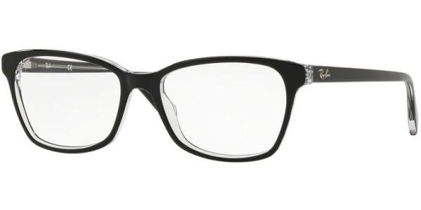 Dioptrické brýle Ray-Ban® model 5362, barva obruby černá čirá lesk, stranice černá čirá lesk, kód barevné varianty 2034.
