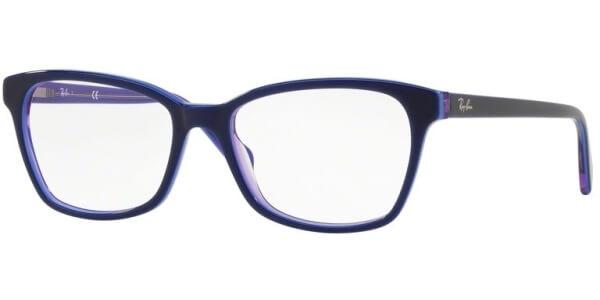 Dioptrické brýle Ray-Ban® model 5362, barva obruby modrá fialová lesk, stranice modrá fialová lesk, kód barevné varianty 5776.