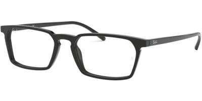 Dioptrické brýle Ray-Ban® model 5372, barva obruby černá lesk, stranice černá lesk, kód barevné varianty 2000.