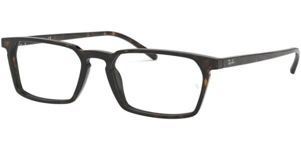Dioptrické brýle Ray-Ban® model 5372, barva obruby hnědá lesk, stranice hnědá lesk, kód barevné varianty 2012.
