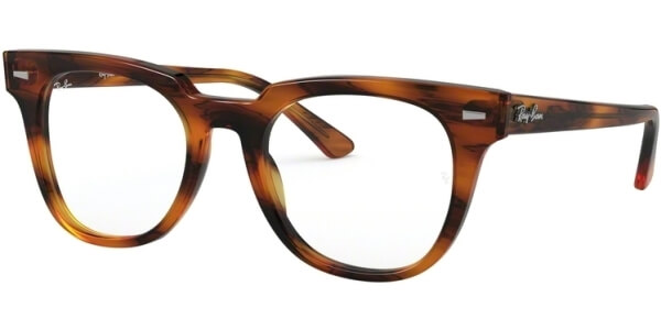 Dioptrické brýle Ray-Ban® model 5377, barva obruby hnědá lesk, stranice hnědá lesk, kód barevné varianty 2144.