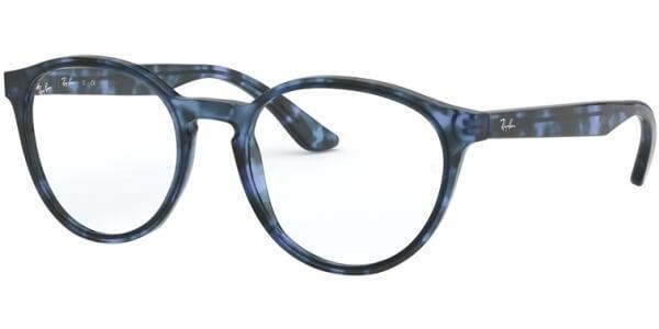 Dioptrické brýle Ray-Ban® model 5380, barva obruby modrá černá lesk, stranice modrá černá lesk, kód barevné varianty 5946.