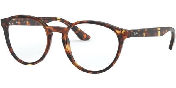 Dioptrické brýle Ray-Ban® model 5380, barva obruby hnědá lesk, stranice hnědá lesk, kód barevné varianty 5947.