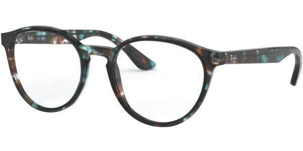 Dioptrické brýle Ray-Ban® model 5380, barva obruby hnědá modrá lesk, stranice hnědá modrá lesk, kód barevné varianty 5949.