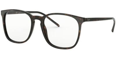 Dioptrické brýle Ray-Ban® model 5387, barva obruby hnědá lesk, stranice hnědá lesk, kód barevné varianty 2012.
