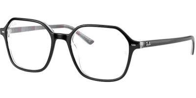 Dioptrické brýle Ray-Ban® model 5394, barva obruby černá šedá lesk, stranice černá šedá lesk, kód barevné varianty 8089.