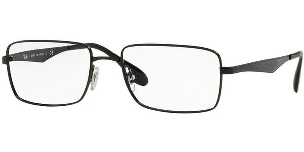 Dioptrické brýle Ray-Ban® model 6329, barva obruby černá lesk, stranice černá lesk, kód barevné varianty 2509.