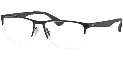 Dioptrické brýle Ray-Ban® model 6335, barva obruby černá mat, stranice černá mat, kód barevné varianty 2503.