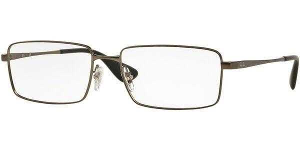 Dioptrické brýle Ray-Ban® model 6337M, barva obruby šedá mat, stranice šedá mat, kód barevné varianty 2620.