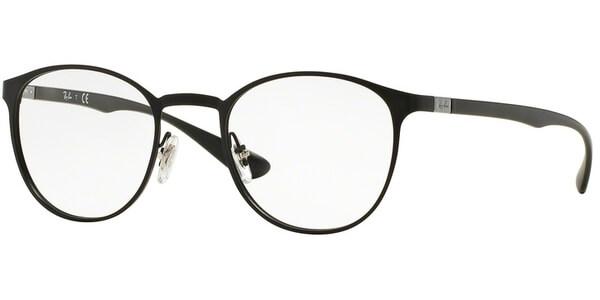 Dioptrické brýle Ray-Ban® model 6355, barva obruby černá mat, stranice černá mat, kód barevné varianty 2503.