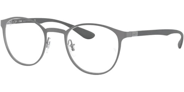 Dioptrické brýle Ray-Ban® model 6355, barva obruby stříbrná mat, stranice stříbrná mat, kód barevné varianty 3097.