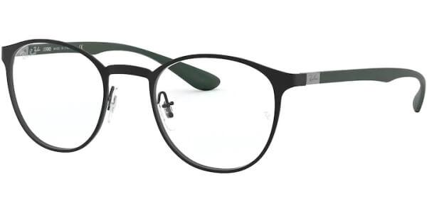 Dioptrické brýle Ray-Ban® model 6355, barva obruby černá mat, stranice zelená mat, kód barevné varianty 3098.