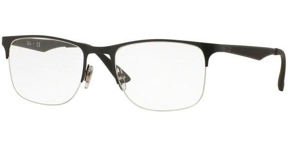 Dioptrické brýle Ray-Ban® model 6362, barva obruby černá mat, stranice černá mat, kód barevné varianty 2509.