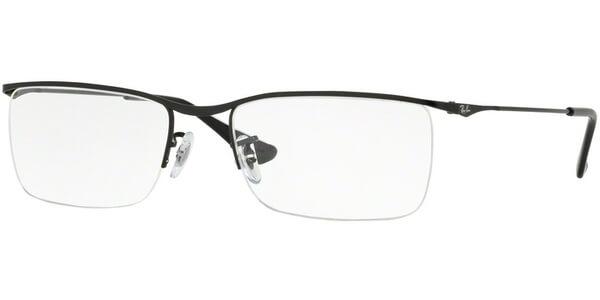 Dioptrické brýle Ray-Ban® model 6370, barva obruby černá lesk, stranice černá lesk, kód barevné varianty 2509.