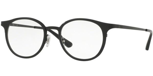Dioptrické brýle Ray-Ban® model 6372M, barva obruby černá lesk, stranice černá lesk, kód barevné varianty 2509.