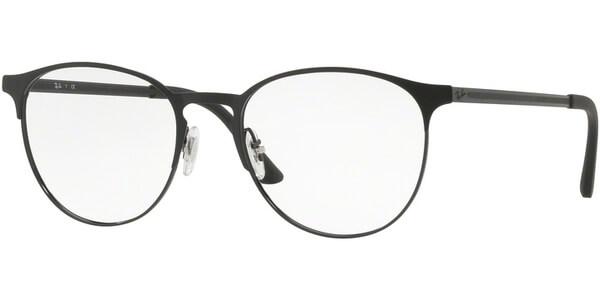 Dioptrické brýle Ray-Ban® model 6375, barva obruby černá mat, stranice černá mat, kód barevné varianty 2944.