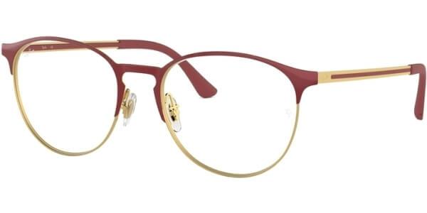 Dioptrické brýle Ray-Ban® model 6375, barva obruby červená zlatá lesk, stranice červená zlatá lesk, kód barevné varianty 2982.