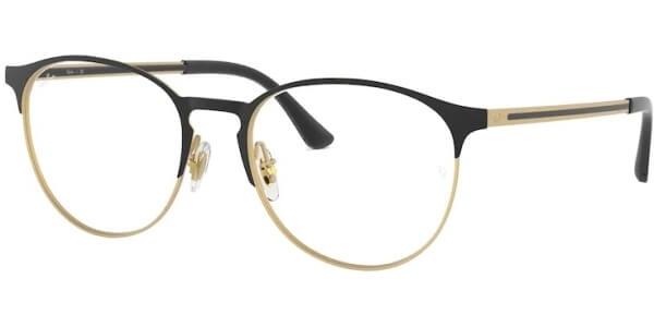 Dioptrické brýle Ray-Ban® model 6375, barva obruby černá zlatá mat, stranice černá zlatá mat, kód barevné varianty 3051.