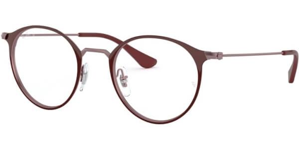 Dioptrické brýle Ray-Ban® model 6378, barva obruby vínová lesk, stranice vínová lesk, kód barevné varianty 3070.