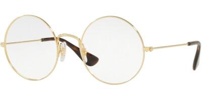 Dioptrické brýle Ray-Ban® model 6392, barva obruby zlatá lesk, stranice zlatá lesk, kód barevné varianty 2969.