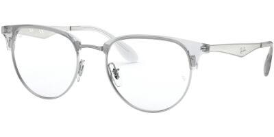 Dioptrické brýle Ray-Ban® model 6396, barva obruby čirá stříbrná lesk, stranice stříbrná lesk, kód barevné varianty 2936.