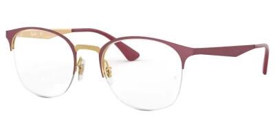 Dioptrické brýle Ray-Ban® model 6422, barva obruby červená zlatá mat, stranice červená mat, kód barevné varianty 3007.