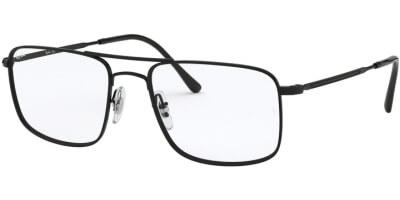 Dioptrické brýle Ray-Ban® model 6434, barva obruby černá lesk, stranice černá lesk, kód barevné varianty 2509.
