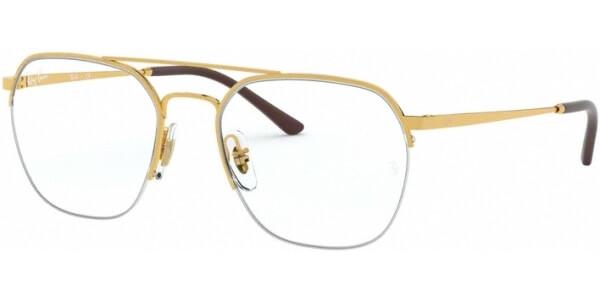 Dioptrické brýle Ray-Ban® model 6444, barva obruby zlatá lesk, stranice zlatá lesk, kód barevné varianty 2500.
