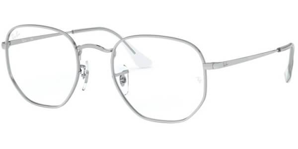 Dioptrické brýle Ray-Ban® model 6448, barva obruby stříbrná lesk, stranice stříbrná lesk, kód barevné varianty 2501.