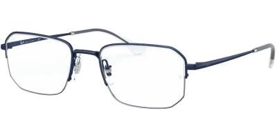Dioptrické brýle Ray-Ban® model 6449, barva obruby modrá lesk, stranice modrá lesk, kód barevné varianty 3079.