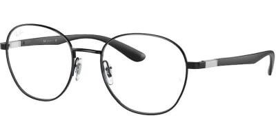 Dioptrické brýle Ray-Ban® model 6461, barva obruby černá lesk, stranice černá lesk, kód barevné varianty 2509.
