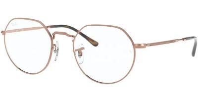 Dioptrické brýle Ray-Ban® model 6465, barva obruby zlatá lesk, stranice zlatá lesk, kód barevné varianty 2943.