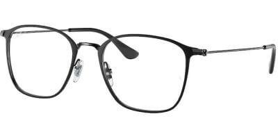 Dioptrické brýle Ray-Ban® model 6466, barva obruby černá mat, stranice černá lesk, kód barevné varianty 2904.