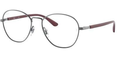 Dioptrické brýle Ray-Ban® model 6470, barva obruby šedá lesk, stranice vínová lesk, kód barevné varianty 2502.